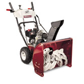 WHITE OUTDOOR SNOW BLOWERS